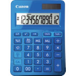 Canon Metallic Blue Calculator LS 123K