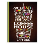 Noteletts A5 Notebook Coffee 90 gsm Ruled
