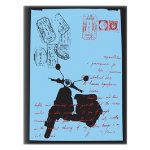 Noteletts A5 Notebook Moped 90 gsm Ruled