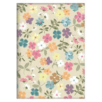 Noteletts A5 Notebook Flowers 90 gsm Ruled