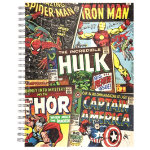 Silvine Marvel Superhero A5 Notebook