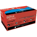 Berol Handwriting Stick Pen Black pack 200