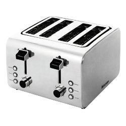 Igenix stainless steel 4 slice toaster