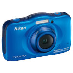 Nikon Coolpix S32 132 MP digital camera blue