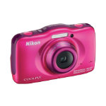 Nikon Coolpix S32 132 MP digital camera pink