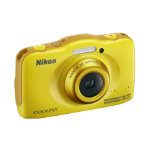 Nikon Coolpix S32 132 MP digital camera yellow