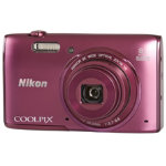 Nikon Coolpix S5300 16MP Camera Plum