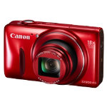 Canon Powershot SX600 HS 16MP Camera Red