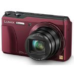 Panasonic DMC TZ55 Camera 16MP Red