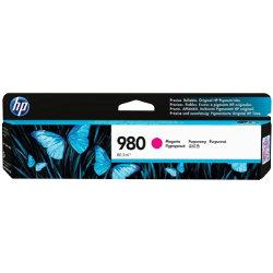 Original HP No.980 magenta printer ink cartridge D8J08A