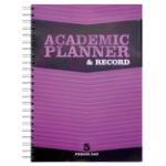 Silvine 5 Period Wire Bound Academic Planner and Record Book