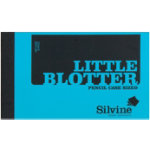 Pack 20 Silvine 63 x 106mm Little Blotter 140 grm
