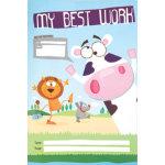 Pack 10 Silvine Nursery Scrapbook 377 x 251 mm