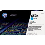 Original HP CF321A cyan laser toner cartridge HP No 653A