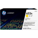 Original HP CF322A yellow laser toner cartridge HP No 653A