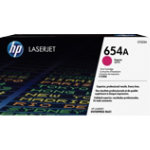 Original HP CF333A magenta laser toner cartridge HP No 654A