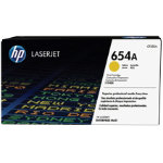HP 654A Toner Cartridge CF332A Yellow