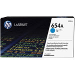 Original HP CF331A cyan laser toner cartridge HP No 654A