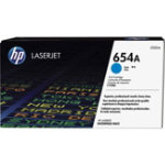 HP 654A Original Cyan Toner Cartridge CF331AC