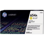 HP 654A Original Toner Cartridge CF332AC Yellow