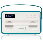 View Quest Retro DAB Radio with Lightning Dock Teal