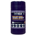 Dirteeze Rough And Smooth Trade Wipes Pack 80