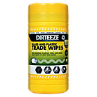 Dirteeze Glass And Plastic Trade Wipes Pack 80