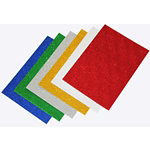 Glitter paper pack assorted A4 pack of 12 sheets