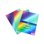 Rainbow A4 paper pack of 50 sheets