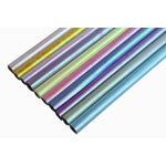 Iridescent 50cm x 70cm assorted paper pack of 10 rolls