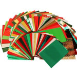 Bumper festive craft paper pack 530 sheets in assorted sizes and colours
