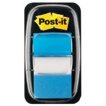 Post it Index Blue Flags 25mm 50 flags per dispenser
