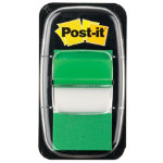 Post it Index Green Flags 25mm 50 flags per dispenser
