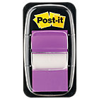 Post it Index Purple Flags 25mm 50 flags per dispenser