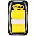 Post it Index Yellow Flags 25mm 50 flags per dispenser