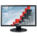 LG 24 Wide Screen Computer Monitor with IPS LG24MB35PY B