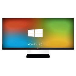 LG 34 LED Computer Monitor with HDMI and Display port LG34UM65P