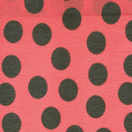 Printed Crepe Paper for costume ladybird design