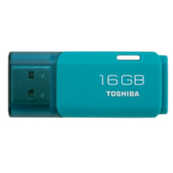 Toshiba TransMemory 16GB USB 2.0 Flash Drive Aqua