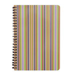 Impact Stripe spiral note book A5