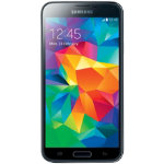 Samsung Galaxy G900 S5 smartphone blue