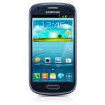 Samsung Galaxy S3 i8190 smartphone blue