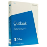 Microsoft Outlook 2013 32 bit X64 English licence medialess