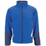 Tungsten Softshell Jacket royal blue size 4XL