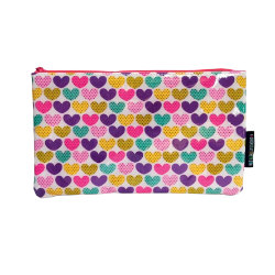 Dotty Hearts Pencil Case