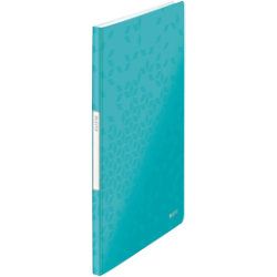 Leitz WOW 20 Pocket Display Book Ice Blue