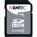 Emtec SDHC Class 4 memory card 4GB