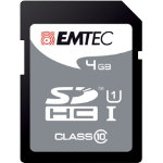 Emtec SDHC Class 10 memory card 4GB