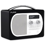 Pure D4 Evoke portable DAB and FM radio domino