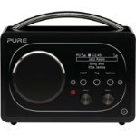 Pure Evoke F4 portable Internet radio with Bluetoothtm black